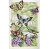 Набор для вышивки крестом Dimensions 35223 Butterfly Forest фото