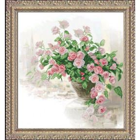 Набор для вышивки крестом КиТ 20415 Вдыхая розы аромат 1 фото