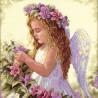 Набор для вышивания Dimensions 35229 Passion Flower Angel фото