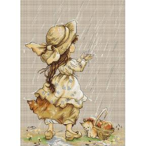 Набор для вышивки крестом Luca-S B1077 Летний дождь
