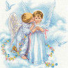 Набор для вышивания Dimensions 35134 Angel Kisses фото