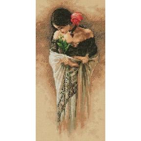 Набор для вышивки крестом Dimensions 70-35331 The Rose