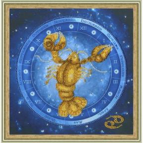 Набор для вышивки Золотое Руно РТ-052 Рак фото