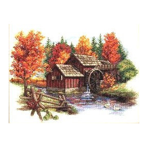Набор для вышивания  Dimensions 35199 Glory of Autumn
