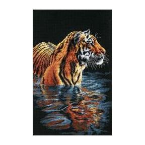 Набор для вышивания  Dimensions 35222 Tiger Chilling Out