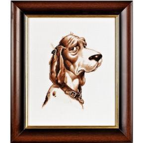 Набор для вышивки крестом Alisena 1058а Собака