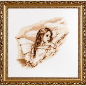 Набор для вышивки крестом Alisena 1069а Ангел вдохновение