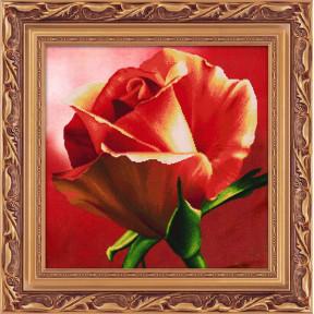 Набор для рисования камнями 5D-054 Lasko Красная роза
