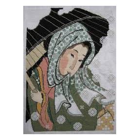 Набор для вышивки крестом Риолис 100/017 Снегопад фото