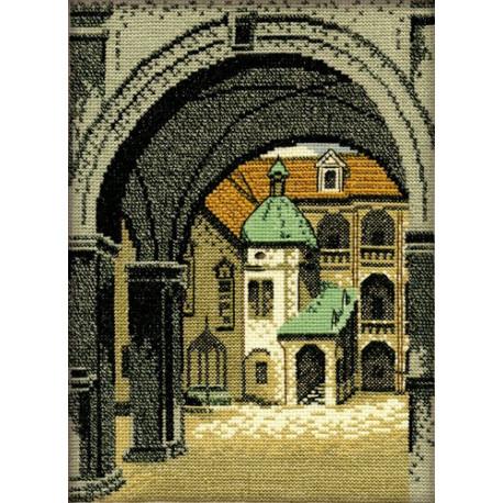 Набор для вышивки крестом RTO R151 Тайна старой арки фото