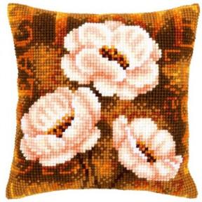 Набор для вышивки подушки Vervaсo PN-0021705 Анемоны/Modern