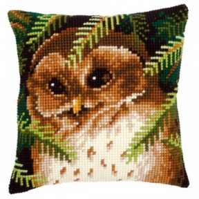 Набор для вышивки подушки Vervaсo PN-0145273 Сова фото