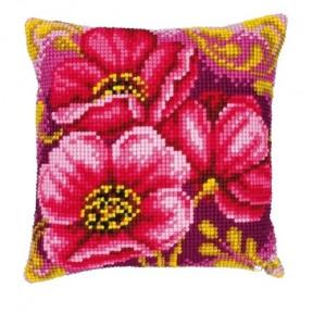 Набор для вышивки подушки Vervaсo PN-0008500 Букет анемонов фото
