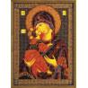 Набор для вышивания бисером Кроше В-147 Владимирская Богородица