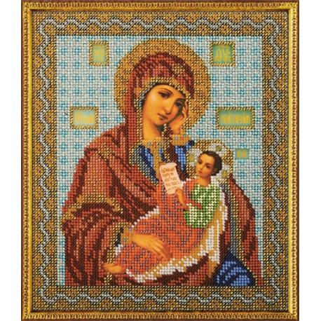 Набор для вышивания бисером Кроше В-158 Богородица Утоли Мои