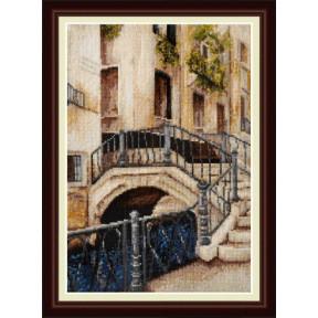 Набор для вышивания крестиком OLanTa VN-004 Венецианский мостик