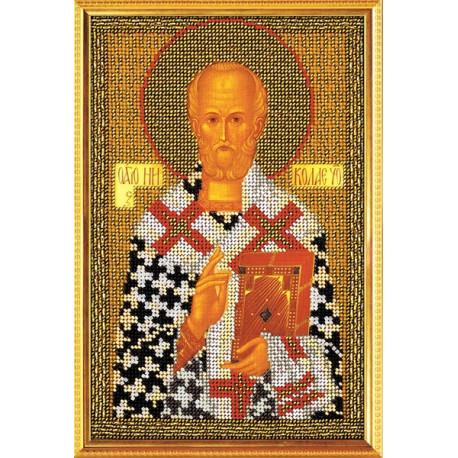 Набор для вышивания бисером Кроше В-151 Святитель Николай