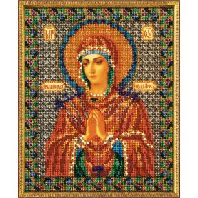 Набор для вышивания бисером Кроше В-154 Богородица Умягчение Злых Сердец