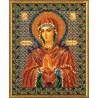 Набор для вышивания бисером Кроше В-154 Богородица Умягчение