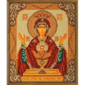 Набор для вышивания бисером Кроше В-165 Богородица Неупиваемая Чаша