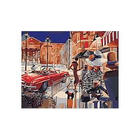 Набор для рисования по номерам Идейка КН2121 Городской гламур