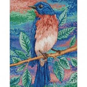 Набор для вышивания  Bucilla 45954 Blue Bird on a Branch