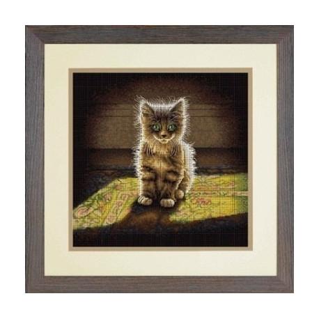 Набор для вышивания Dimensions 70-35286 Warm and Fuzzy Kitten
