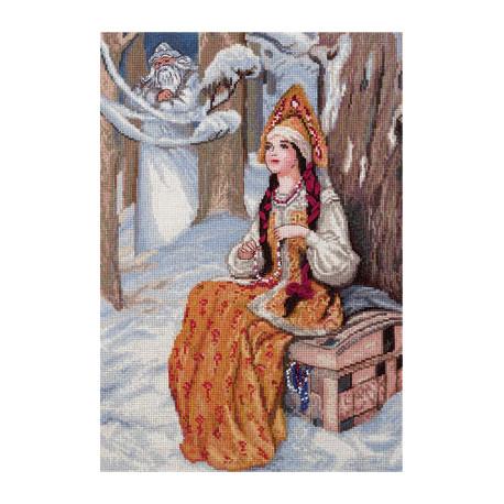 Набор для вышивки крестом Panna ВС-1537 Морозко фото