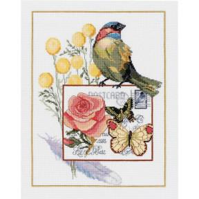 Набор для вышивания Janlynn 023-0605 Botanical Birds