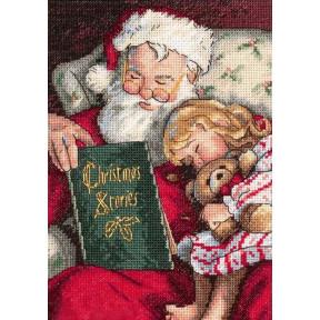 Набор для вышивания крестом Classic Design Рождественские Истории 4378