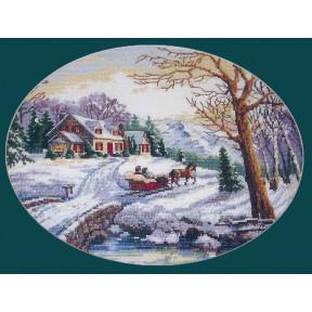 Набор для вышивания крестом Classic Design Зимняя сказка 4379