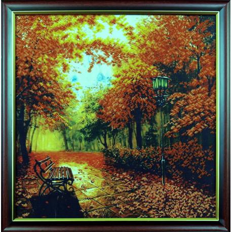 Набор для вышивания Магия Канвы Б-010 Осенний Парк фото
