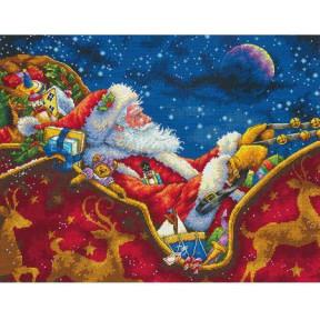 Набор для вышивания крестом Dimensions 70-08934 Santa's