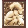 Набор для вышивки Золотое Руно СВ-009 Девочка с кроликом фото