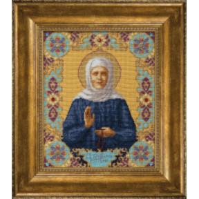 Набор для вышивки крестом Чарівна Мить М-144 Икона Святой Блаженной Матроны Московской