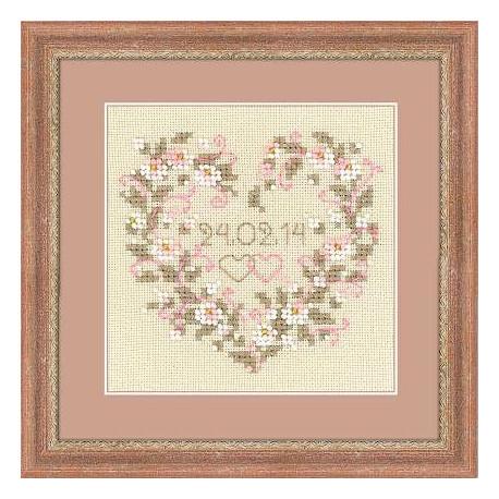 Набор для вышивки крестом Риолис 1405 От всего сердца фото