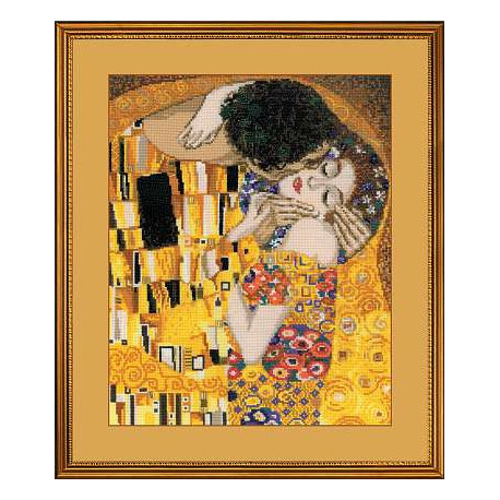 Набор для вышивки крестом Риолис 1170 Поцелуй фото