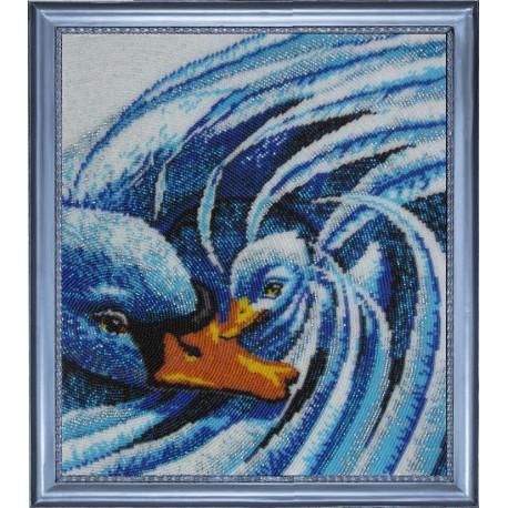 Набор для вышивания бисером Butterfly 506 Лебединая нежность