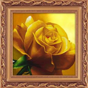 Набор для рисования камнями 5D-055 Lasko Желтая роза