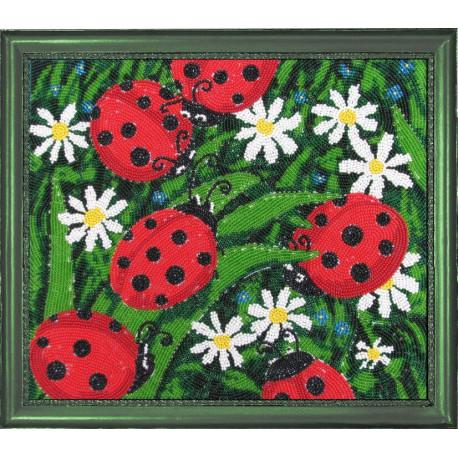 Набор для вышивания бисером Butterfly 104 Солнышки фото