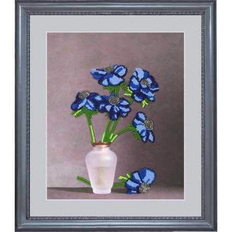 Набор для вышивания бисером Butterfly 202 Синяя мечта фото