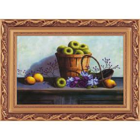 Набор для рисования камнями 5D-041 Lasko Яблоки в корзине