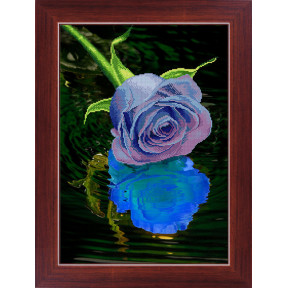 Набор для рисования камнями 5D-033 Lasko Голубая роза