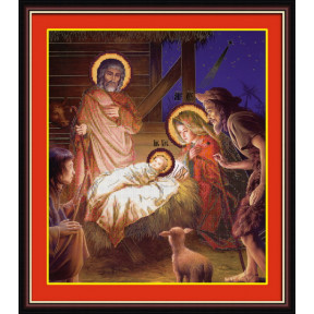 Набор для рисования камнями 5D-030 Lasko Рождество Христово