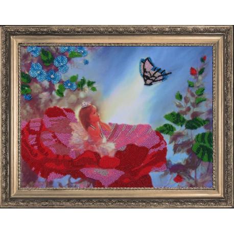 Набор для вышивания бисером Butterfly 405 Маленькая фея фото