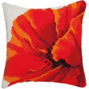 Набор для вышивки подушки Чарівна Мить РТ-180 Мак