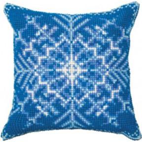 Набор для вышивки подушки Чарівна Мить РТ-178 Снежинка