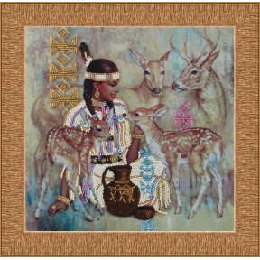 Набор для вышивания бисером Butterfly 414 Дитя природы