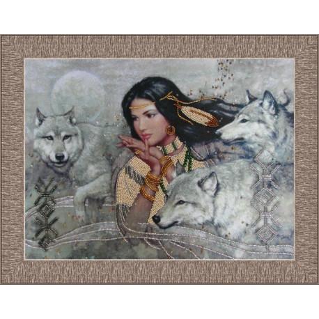 Набор для вышивания бисером Butterfly 416 Танец с волками фото