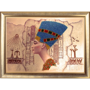 Набор для вышивания бисером Butterfly 417 Нефертити